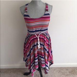 Striped Cotton Roxy Dress